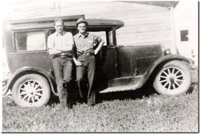 Alf and Art with 30.00 car, 1938 small