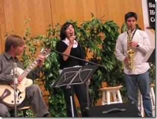 Lett family concert, September 7, 2008