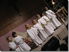 christmas program 2008 - angels