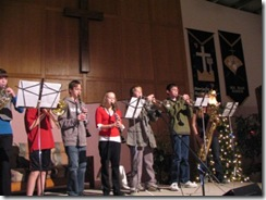 christmas program 2008 - youth brass band