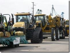 Goose fest parade tractors 2009