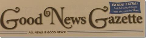 good news gazette sasktel dec 2009