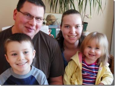 Opseth gang Christmas 2010
