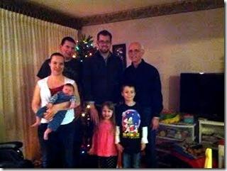 Family photo - December 27, 2012