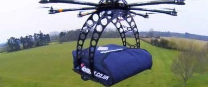 Dominos Pizza Delivery By Drone